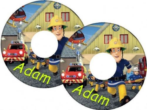 FIREMAN SAM Wheelchair Spoke Guards
